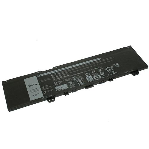 Аккумулятор для Dell 5370 (F62G0) 11.4V 3166mAh
