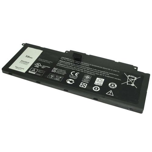 Аккумулятор для Dell Inspiron 15-7537 14.8V 58Wh F7HVR