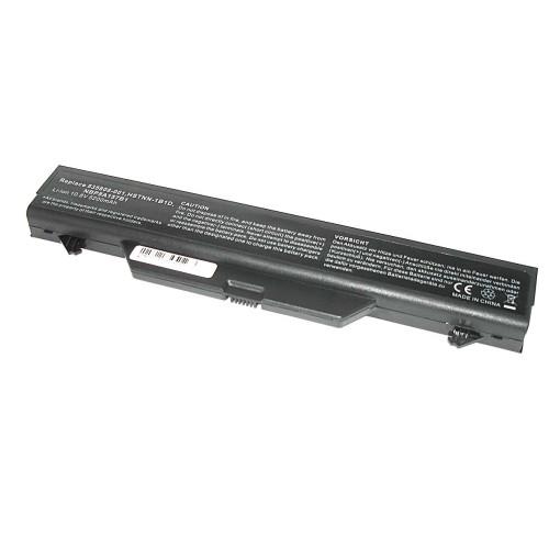 Аккумулятор для HP Compaq 4510s 4710s (HSTNN-1B1D) 10,8V 5200mAh REPLACEMENT черная