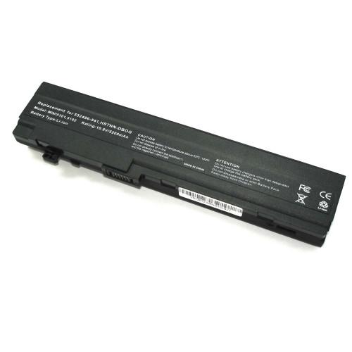 Аккумулятор для HP Compaq Mini 5101 (HSTNN-DB1R) 10.8V 5200mAh REPLACEMENT черная