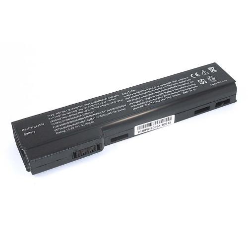Аккумулятор для HP Compaq 6560b (HSTNN-LB2G) 10.8V 5200mAh REPLACEMENT черная