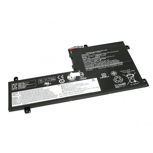 Аккумулятор для Lenovo Y530-15ICH (L17M3PG1) 11.25V 4670mAh
