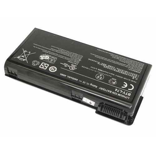 Аккумулятор для MSI CX620 CX623 (BTY-L74) 4400mAh