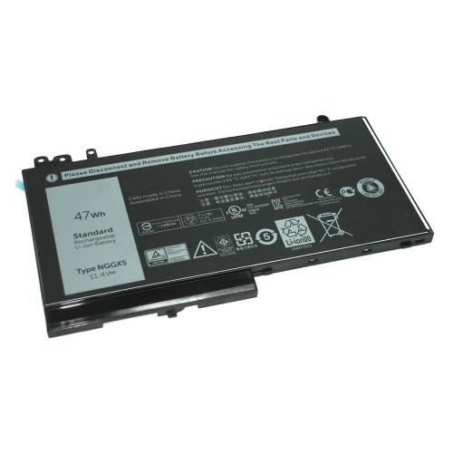 Аккумулятор для Dell Latitude 12 E5270 11.4V 47Wh NGGX5