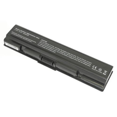Аккумулятор для Toshiba A200 A215 A300 L300 L500 (PA3534U-1BRS) 52Wh REPLACEMENT черная
