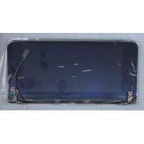 Матрица для Sony VGN-P CLAA080UA01A крышка в сборе черная