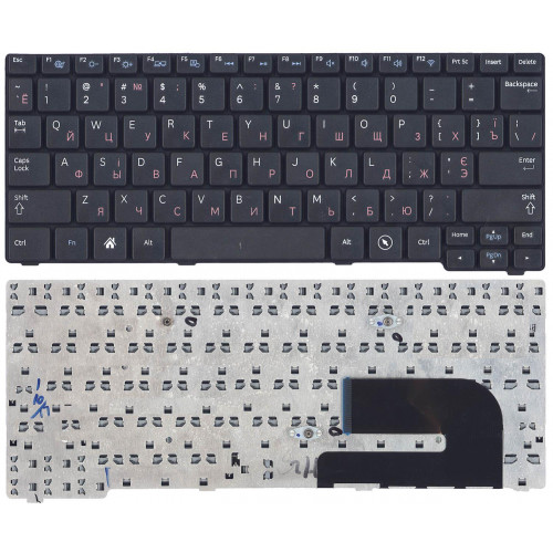Клавиатура для нетбука Samsumg N100 черная