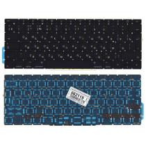 Клавиатура для ноутбука MacBook Pro 13 Retina A1708 черная большой Enter