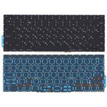 Клавиатура для ноутбука MacBook Pro 13 Retina A1708  черная плоский Enter