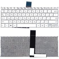 Клавиатура для ноутбука Asus F200CA F200LA F200MA X200 белая, без рамки, плоский Enter