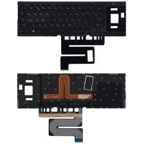 Клавиатура для ноутбука Asus ROG GX501VS GX501VSK  черная c подсветкой маленький энтер