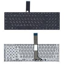 Клавиатура для ноутбука Asus V551 черная плоский Enter