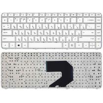 Клавиатура для ноутбука HP Pavilion G4-2000 белая без рамки