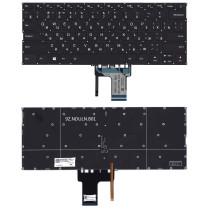 Клавиатура для ноутбука Lenovo IdeaPad 320S-13 черная с подсветкой