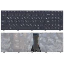 Клавиатура для ноутбука Lenovo IdeaPad G50-70 G50-30 черная с черной рамкой