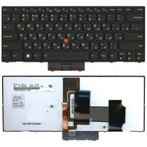 Клавиатура для ноутбука Lenovo Thinkpad  X1 черная с подсветкой