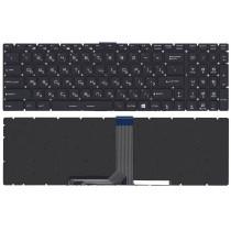 Клавиатура для ноутбука MSI GT72 GS60 GS70 GP62 GL72 GE72 черная с 7-цветной подсветкой