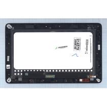 Модуль (матрица + тачскрин) для Asus Transformer Book T200 T200TA черный с рамкой
