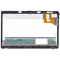 Модуль (матрица + тачскрин) для Asus Q500A-1B черный с рамкой
