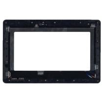 Модуль (матрица + тачскрин) для Asus Transformer Book T100 / T100TA 18140-10 черный с рамкой