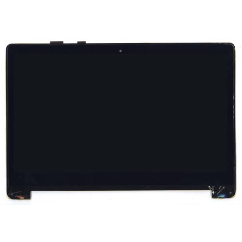 Модуль (матрица + тачскрин) для Asus TP550LA-2B черный с рамкой