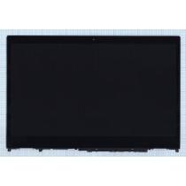 Модуль (матрица + тачскрин) для Lenovo IdeaPad Flex 5 15 черный с рамкой