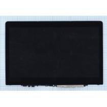 Модуль (матрица + тачскрин) для Lenovo Yoga 710-11IKB HD черный с рамкой
