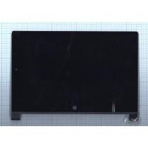 Модуль (матрица + тачскрин) для Lenovo Yoga Tablet 2 1051L черный с рамкой черный