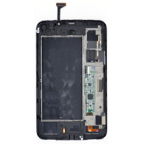Модуль (матрица + тачскрин) для Samsung Galaxy Tab 3 7.0 SM-T211 белый с рамкой