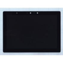 Модуль (матрица + тачскрин) для Lenovo Miix 720-12IKB черный с рамкой