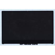 Модуль (матрица + тачскрин) для Lenovo Yoga 720-15IKB UHD черный с рамкой