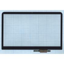 Сенсорное стекло (тачскрин) для Dell Inspiron 15R 04J3M2 черное