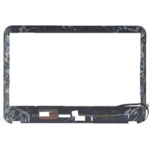 Сенсорное стекло (тачскрин) для Dell Inspiron 15R-3521 черное с рамкой