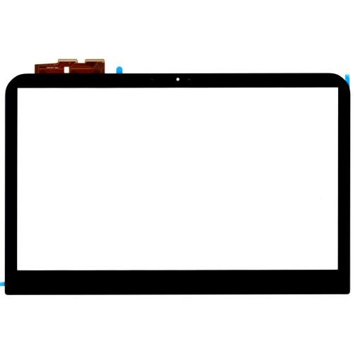 Сенсорное стекло (тачскрин) для Dell TCP14F71 V0.2 черный