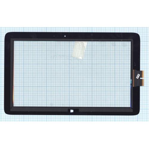 Сенсорное стекло (тачскрин) для HP Pavilion x2 11-h010nr черное