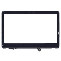 Сенсорное стекло (тачскрин) для Sony Vaio SVF15A черный c рамкой