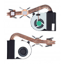 Система охлаждения для ноутбука Asus K55D K55DR