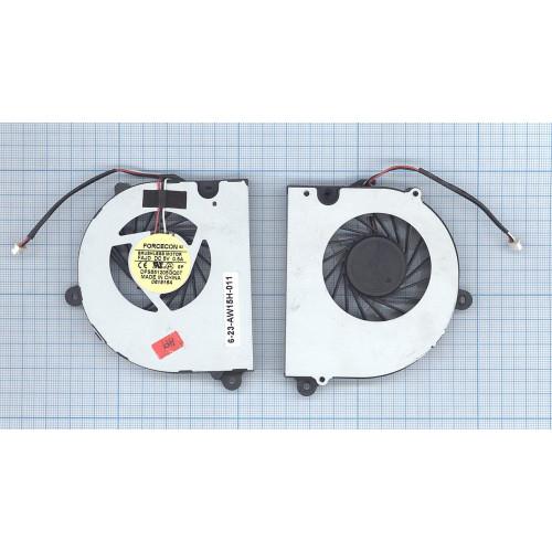 Вентилятор (кулер) для ноутбука Clevo / DNS B4100 B5100 B7110 B7130