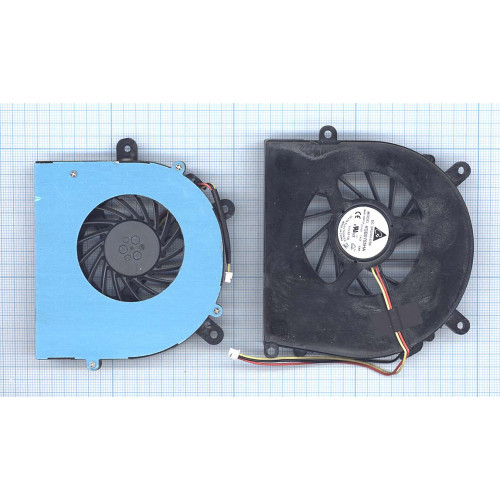 Вентилятор (кулер) для ноутбука Clevo P150 P170 P370 P570 (правый + левый) GPU+CPU