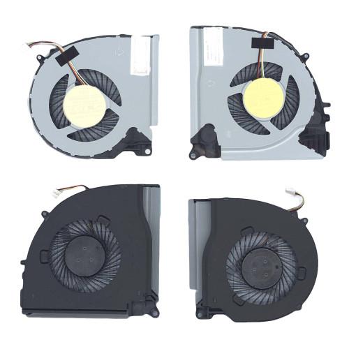 Вентилятор (кулер) для ноутбука Dell Inspiron 7000 7557 7559 15-7557 (левый+правый)