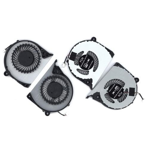 Вентилятор (кулер) для ноутбука Dell Inspiron G7 15-7000 7577 (пара)