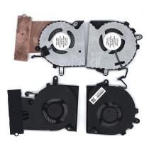 Вентилятор (кулер) для ноутбука HP Omen 15-CE (CPU+GPU) пара