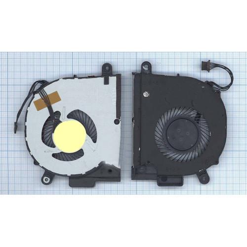 Вентилятор (кулер) для ноутбука Lenovo Y50C V4000 (с крышкой)