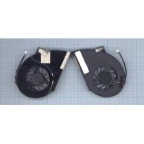 Вентилятор (кулер) для ноутбука Toshiba Qosimio X500 X505 P500 P500D P505 P505D VER-3 (с крышкой)