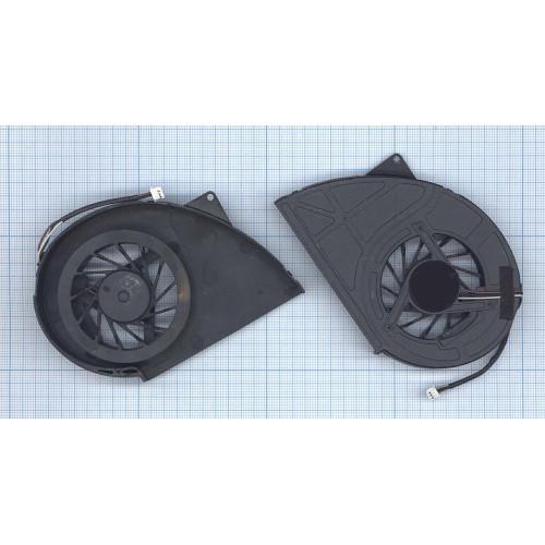 Вентилятор (кулер) для ноутбука Toshiba Qosimio X500 X505 P500 P500D P505 P505D VER-3 (без крышки)